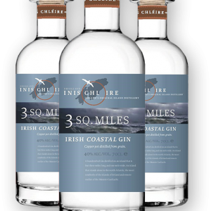 3 SQ.MILES – irish coastal gin 2