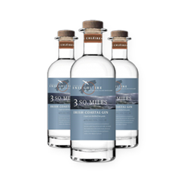 3 SQ.MILES – irish coastal gin