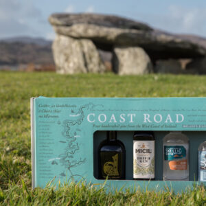 The Coast Road – A Gift Pack of Four Unique Gins in 100ml Bottles